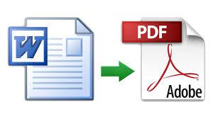 Convertimos un documento WORD a PDF